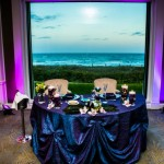 Dallas & Mike's Peacock themed Wedding at The Delray Beach Club