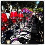 tabletop design for union savor the avenue 2013